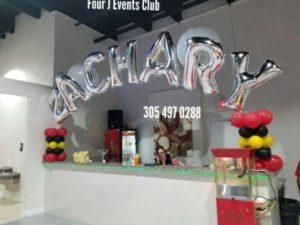 Four J Events Club Decoration