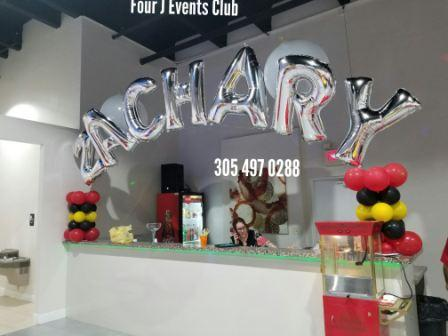 Four J Events Club Decoration